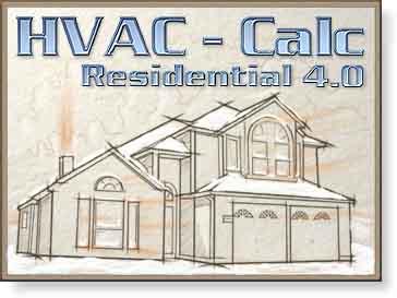 HVAC-Calc Heat Load Calculations, Furnce sizing, Air